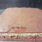 prajitura cu ciocolata si crema de cocos 4 150x150 - Prajitura Bounty cu crema de cocos, blat de cacao si glazura de ciocolata