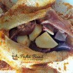 rata umpluta cu mere si organe la cuptor reteta gustoasa2 150x150 - Rata umpluta cu mere si organe, la cuptor, cu garnitura de cartofi