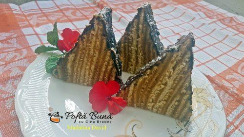 reteta prajitura carpati reteta clasica 4 500x282 - Prajitura Carpati cu foi si crema de unt, reteta de cofetarie