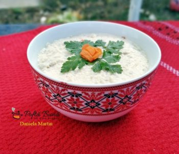 Salata de conopida cu piept de pui, morcov si hrean, un aperitiv deosebit