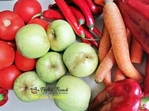 sos de rosii ardei morcovi reteta pentru iarna1 500x375 - Adjica moldoveneasca, sos de rosii, ardei, morcovi pentru iarna