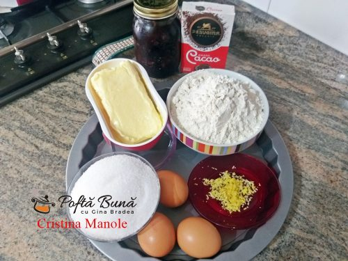 tarta cu gem de prune si nuci reteta simpla3 500x375 - Tarta cu gem de prune si nuci sau crostata