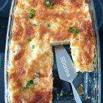 75474123 1344217795753434 6346757195744411648 n 150x150 - Reteta de lasagna cu sos bechamel, mazare si afumatura