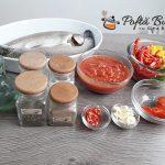 Pastrav la cuptor cu rosii ardei si usturoi reteta gina bradea 1 150x150 - Pastrav la cuptor cu rosii, ardei si usturoi, reteta clasica