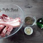 Friptura de piept de porc cu usturoi