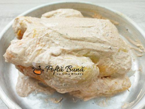 Pui la cuptor marinat cu iaurt si lamaie reteta gina bradea 1 500x375 - Pui la cuptor, marinat cu iaurt si lamaie