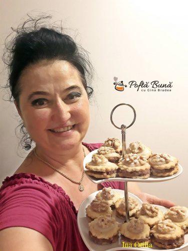 biscuiti condimentati umpluti reteta pas cu pas 5 375x500 - Biscuiti aromati cu nuca umpluti cu gem si martipan