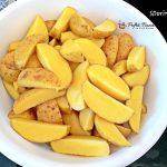cartofi wedges la cuptor 3 150x150 - Cartofi wedges la cuptor, o garnitura rapida si gustoasa, fara mult ulei