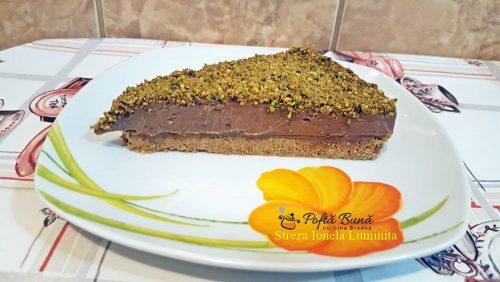 Cheesecake cu Nutella si mascarpone, gata in 10 minute