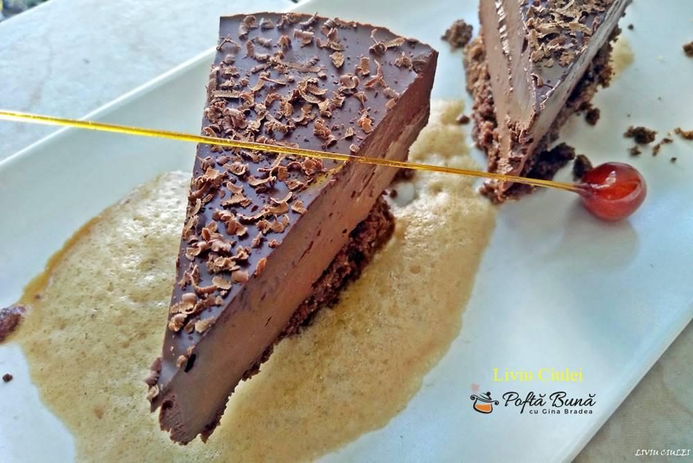 chocolate delice deliciu de ciocolata reteta pas cu pas 5 - Prajitura Deliciu de ciocolata sau Chocolate delice, reteta Raymond Blanc