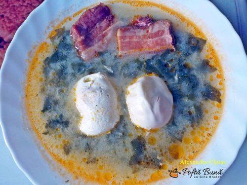 ciorba de macris reteta simpla 3 500x375 - Ciorba de macris cu slanina afumata si oua intregi, reteta traditionala
