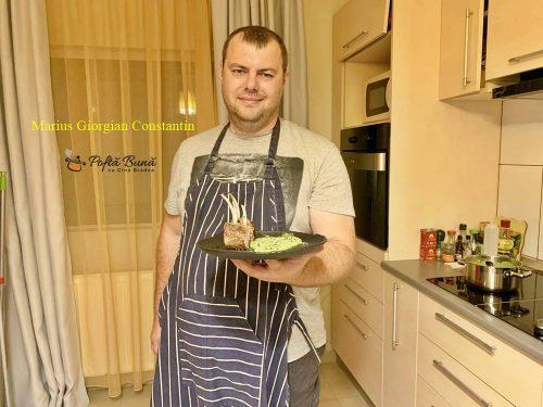 cotlete de miel cu piure de mazare 6 500x375 - Cotlete de miel cu piure de mazare si menta, reteta simpla