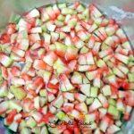 Dulceata din coji de pepene verde, reteta de coji de pepene confiate