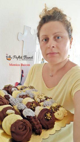 fursecuri fragede glazurate reteta simpla 1 281x500 - Fursecuri fragede cu unt, glazurate cu ciocolata si nuca