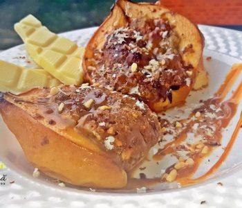 Gutui coapte cu mere si nuci, reteta rapida pentru un desert gustos