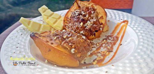 gutui coapte cu mere si nuci 4 500x243 - Gutui coapte cu mere si nuci, reteta rapida pentru un desert gustos