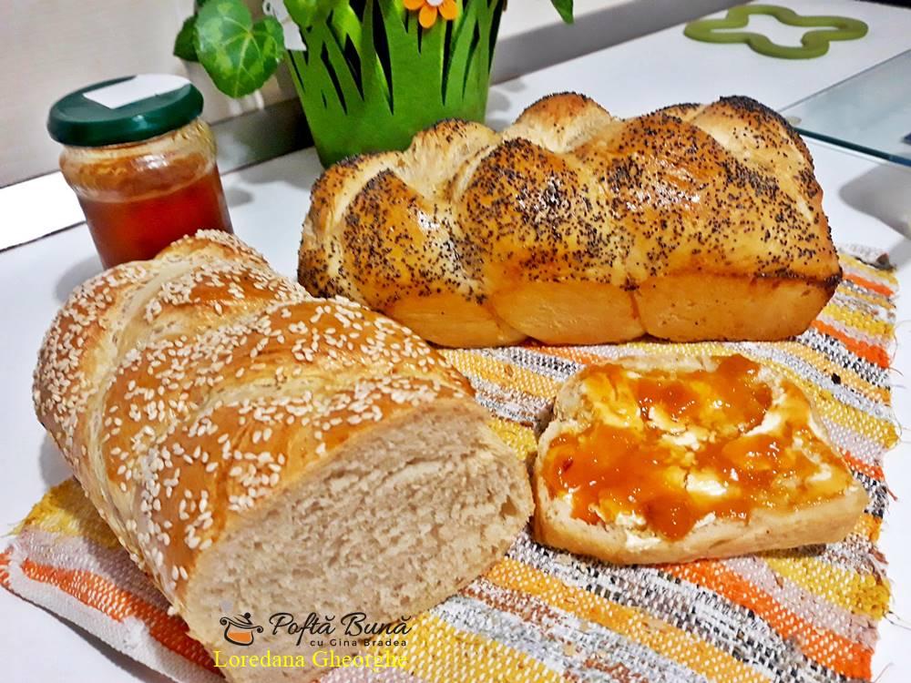 paine de casa reteta simpla 1 - Paine de casa pufoasa, moale, reteta simpla, pas cu pas