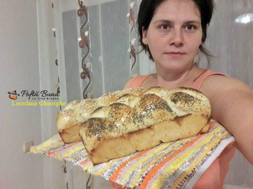 paine de casa reteta simpla 5 500x375 - Paine de casa pufoasa, moale, reteta simpla, pas cu pas