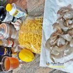 Paste proaspete cu creveti si smantana de gatit, reteta italiana