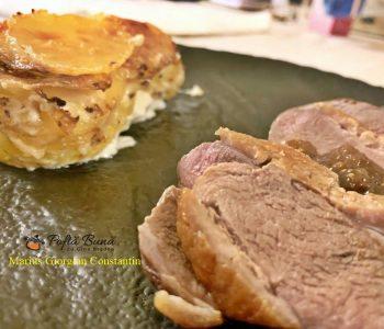 Piept de rata cu cartofi Dauphinoise, reteta clasica frantuzeasca
