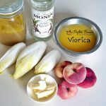 piept de rata cu sos piure de mere cicoare piersici in sirop 1 150x150 - Piept de rata cu sos, piure de mere, cicoare, piersici in sirop