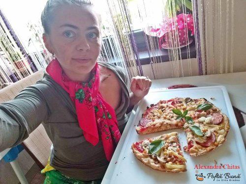pizza la tigaie reteta rapida 4 500x375 - Pizza rapida la tigaie, reteta simpla cu tot ce ai in casa