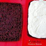 Prajitura cu blat umed si crema de lapte cu lamaie, reteta pas cu pas