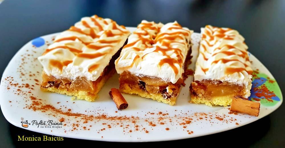 prajitura cu mere nuca si crema de frisca cu mascarpone 5 - Prajitura cu mere, nuca si crema de frisca cu mascarpone