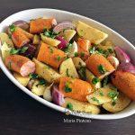reteta carnati trandafiri cu cartofi la cuptor 2 150x150 - Carnati trandafiri cu cartofi, usturoi si ceapa rosie, la cuptor
