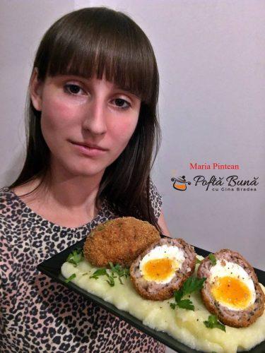 reteta scotch eggs oua scotiene 2 375x500 - Oua scotiene, reteta de chiftele din carne tocata, umplute cu oua fierte