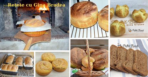 retete paine de casa 500x261 - Paine cu usturoi - pampuste, reteta traditionala