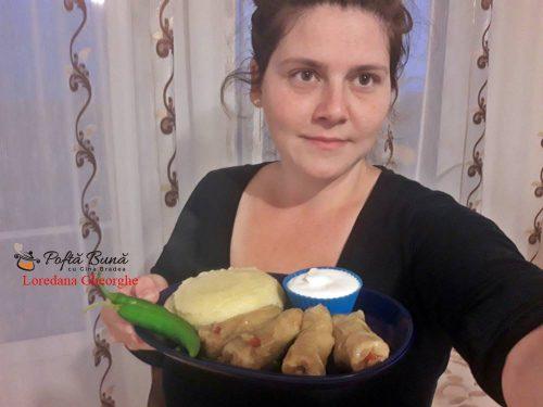 sarmale moldovenesti reteta traditionala 2 500x375 - Sarmale moldovenesti din carne de porc, reteta fara prajeli