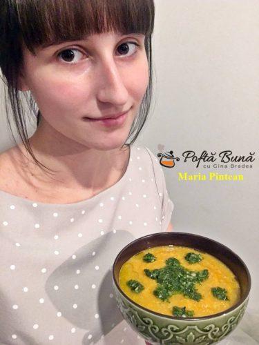 Supa de caju si morcovi