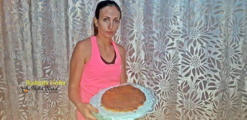 tarta tatin cu banane 1 500x243 - Tarta Tatin cu banane sau tarta rasturnata cu banane si caramel