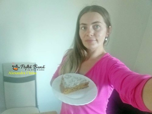 tort cu dovleac placintar reteta rapida 5 500x375 - Tort sau chec cu dovleac placintar si nuca, reteta simpla
