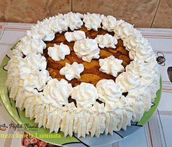 Tort cu mere caramelizate, reteta veche, pas cu pas