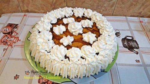 tort cu mere caramelizate 5 500x282 - Tort cu mere caramelizate, reteta veche, pas cu pas