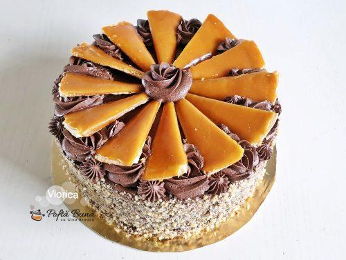 tort dobos reteta de cofetarie 1 500x377 - Tort Dobos reteta originala de cofetarie cu crema de cacao