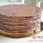 Tort Dobos reteta originala de cofetarie cu crema de cacao