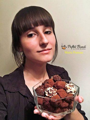 trufe de ciocolata 1 375x500 - Trufe de ciocolata, reteta celor mai fine bomboane de ciocolata