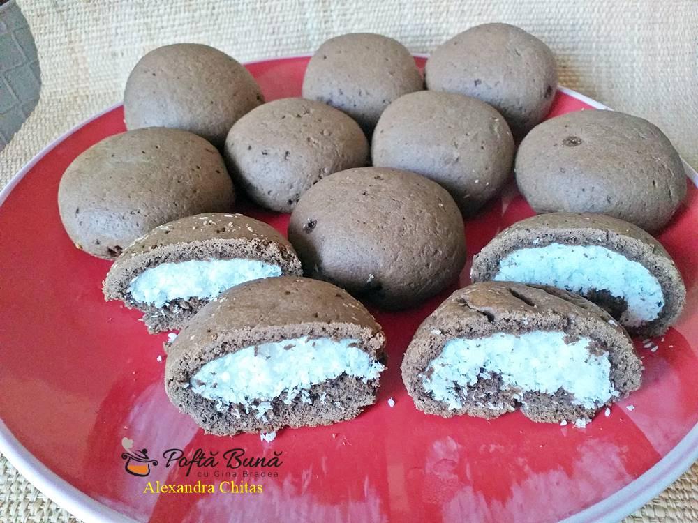Biscuiti cu umplutura de cocos