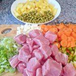 Ciorba cu carne de porc si legume
