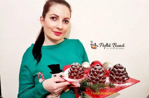 conulete de brad din biscuiti reteta simpla 1 500x329 - Conuri de brad din biscuiti, fursecuri de Craciun