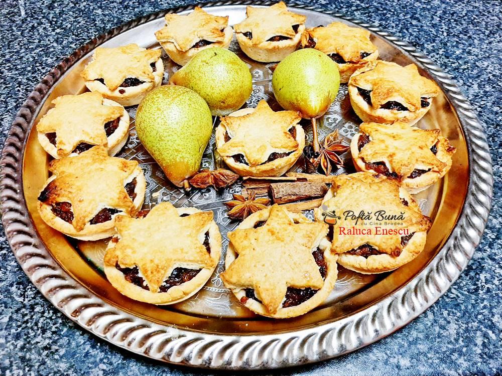 Mince pies, prajituri englezesti de Craciun