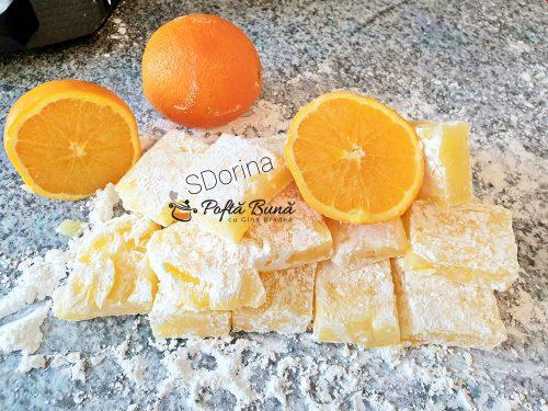 Rahat cu aroma de portocala, reteta simpla