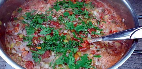 Reteta dietetica de ciorba de legume