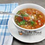 Ciorba de legume - reteta dietetica pentru dieta Rina