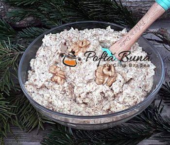 Crema de nuci oparite cu lapte si unt, reteta veche