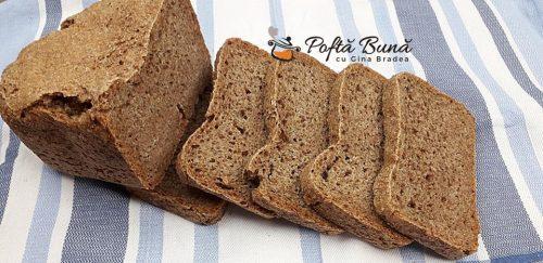 Paine graham - reteta la masina de facut paine