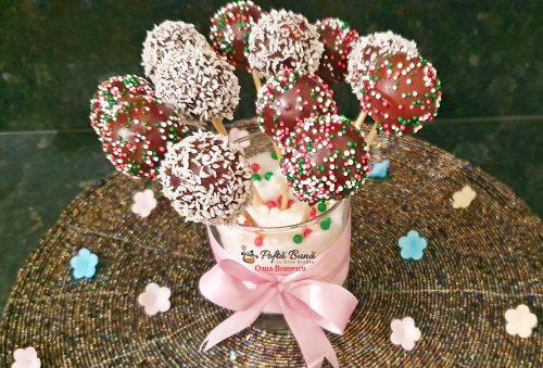 Acadele glazurate din pandispan sau biscuiti